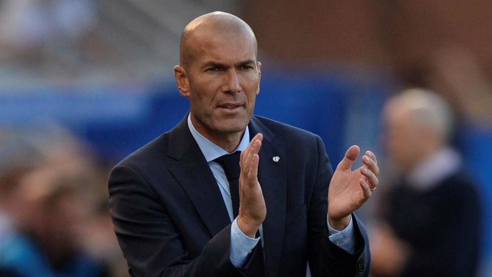 Zidane en Mendizorroza