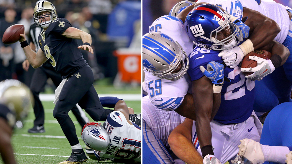 Saints y Giants no conocen la victoria.
