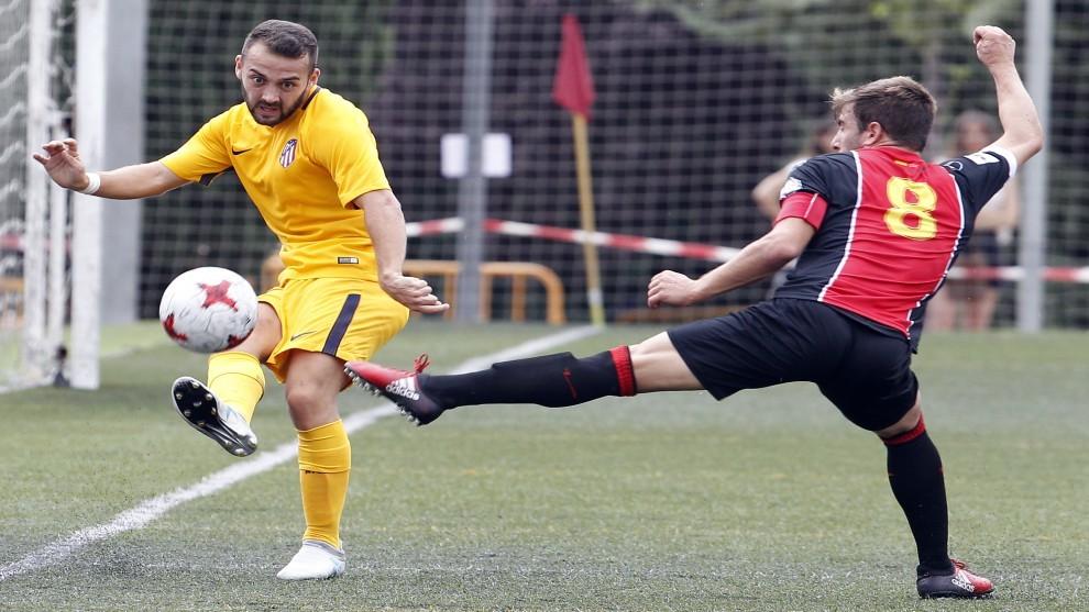 Imagen del Atleti B - Unión Adarve del pasado mes de agosto