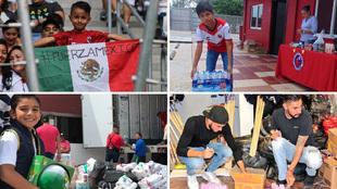 Los equipos del fútbol mexicano no detienen sus esfuerzos por ayudar...