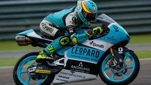 Joan Mir, en el circuito de MotorLand Aragón