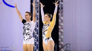 Sara Moreno y Vicente Lli, de nuevo campeones de Europa.
