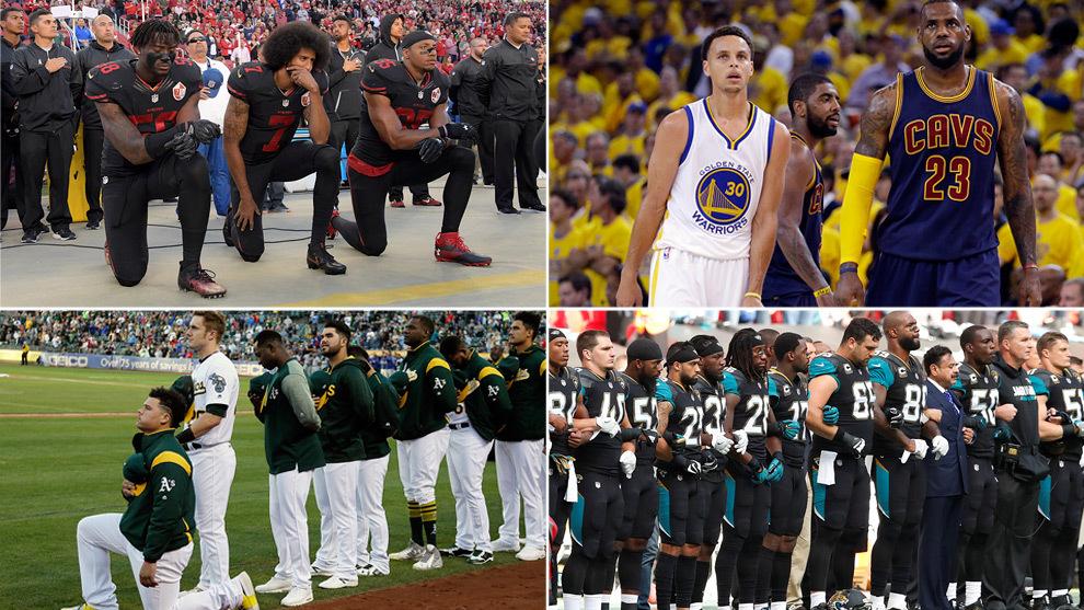 Kaepernick, Curry y LeBron, Maxwell y los Jaguars de Jacksonville.