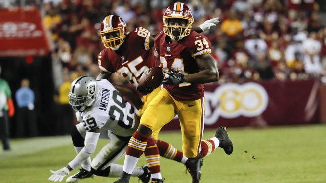 Mack Brown fue un dolor de cabeza para la defensiva de Oakland.