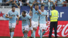 Cabral celebra su gol