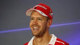 Sebastian Vettel, piloto de Fórmula 1.