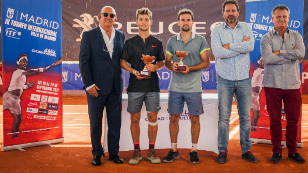 Miguel Diaz, Moutet, Olaso, Tati Rascón y Koki Martí.