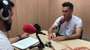 Denis, en la entrevista con RAC1