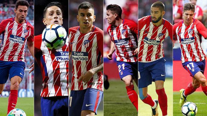 Los 'candidatos' a salir del Atlético en enero