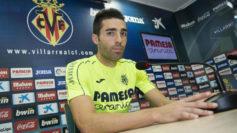 Bruno Soriano, en rueda de prensa.