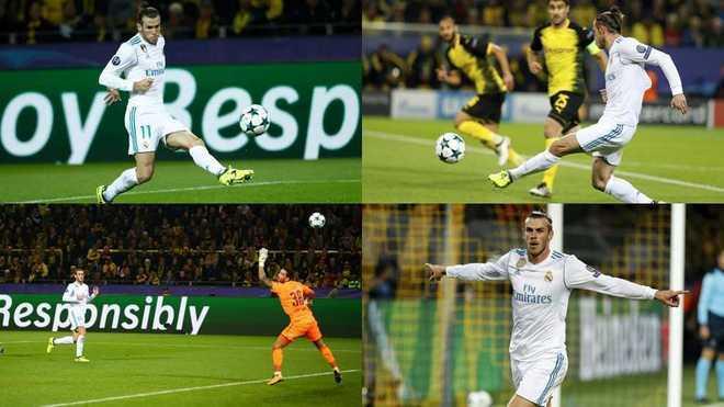 Bale giành giải bàn đẹp nhất Champions League mùa này