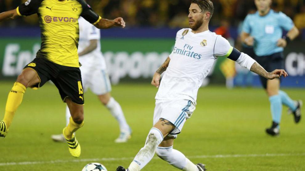 Ramos en Dortmund
