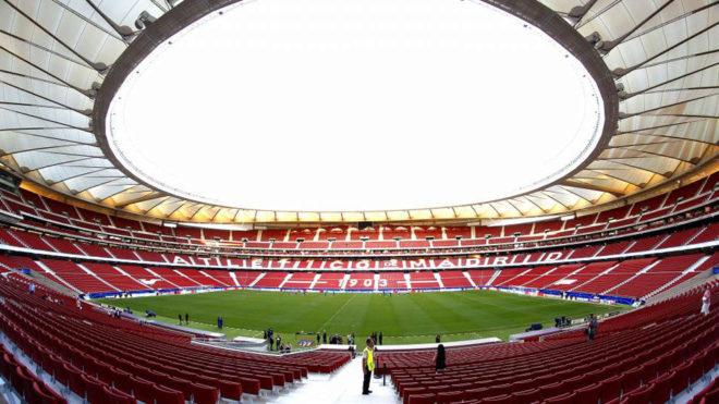 El Metropolitano alberga su primer partido continental.