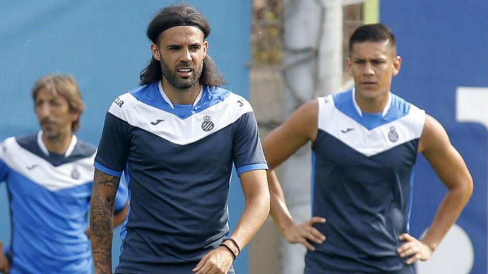 Sergio Sánchez y Óscar Duarte, en una sesión.
