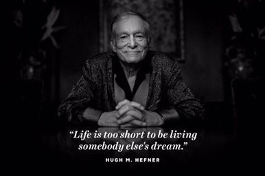 Así anunció Playoboy la muerte de Hugh Hefner