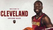 Dwyane Wade ya luce como nuevo jugador de los Cleveland Cavaliers