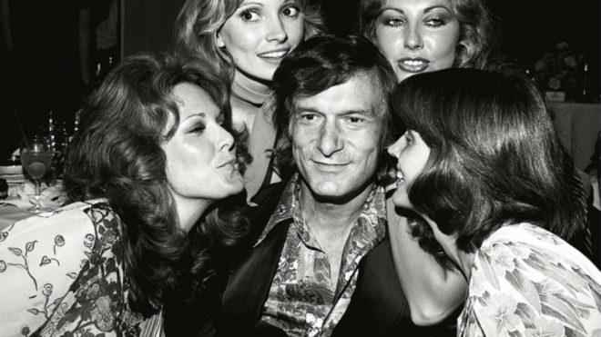 Hugh Hefner, fundador de Playboy