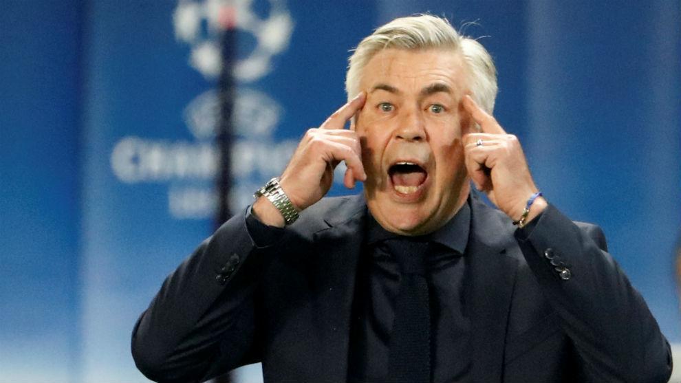 Ancelotti pide calma a sus jugadores ante el PSG.