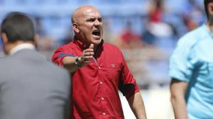 Luis César Sampedro, la pasada temporada