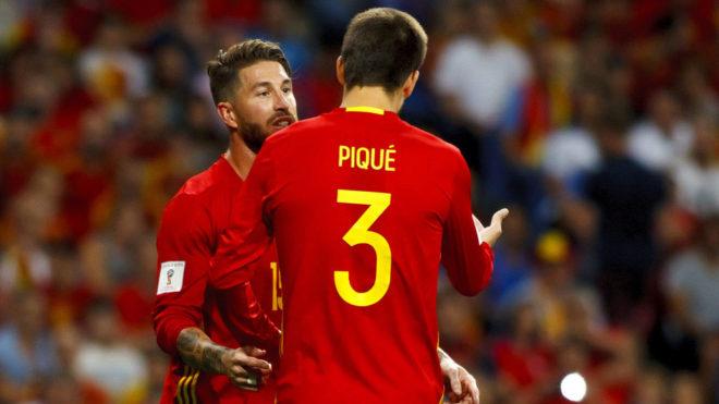 Sergio Ramos: El tuit de Piqué no es lo mejor si quieres que no te piten