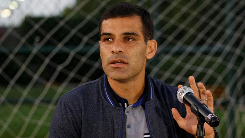 Márquez (38), durante una comparecencia de prensa en Guadalajara,...