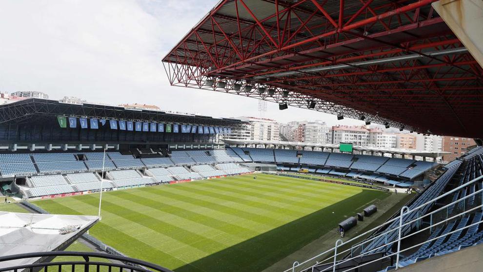 El Estadio de Balaídos en Vigo