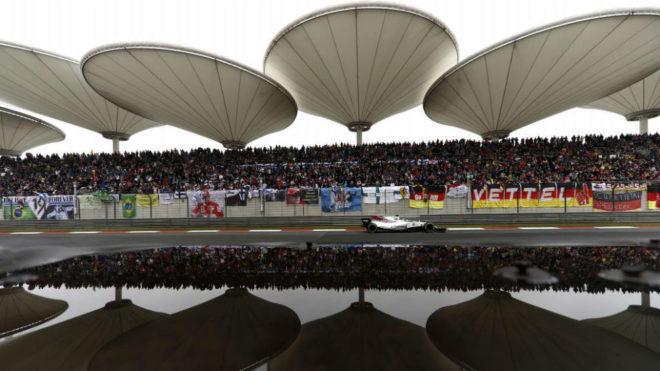 Un momento del pasado GP de China.