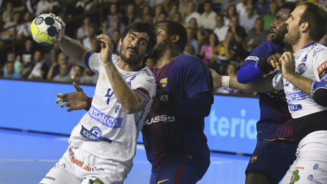 Sebastián Simonet, en el partido de Liga del pasdo miércoles contra...