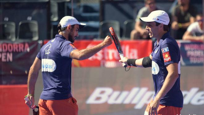Pablo Lima  y Fernando Belasteguín