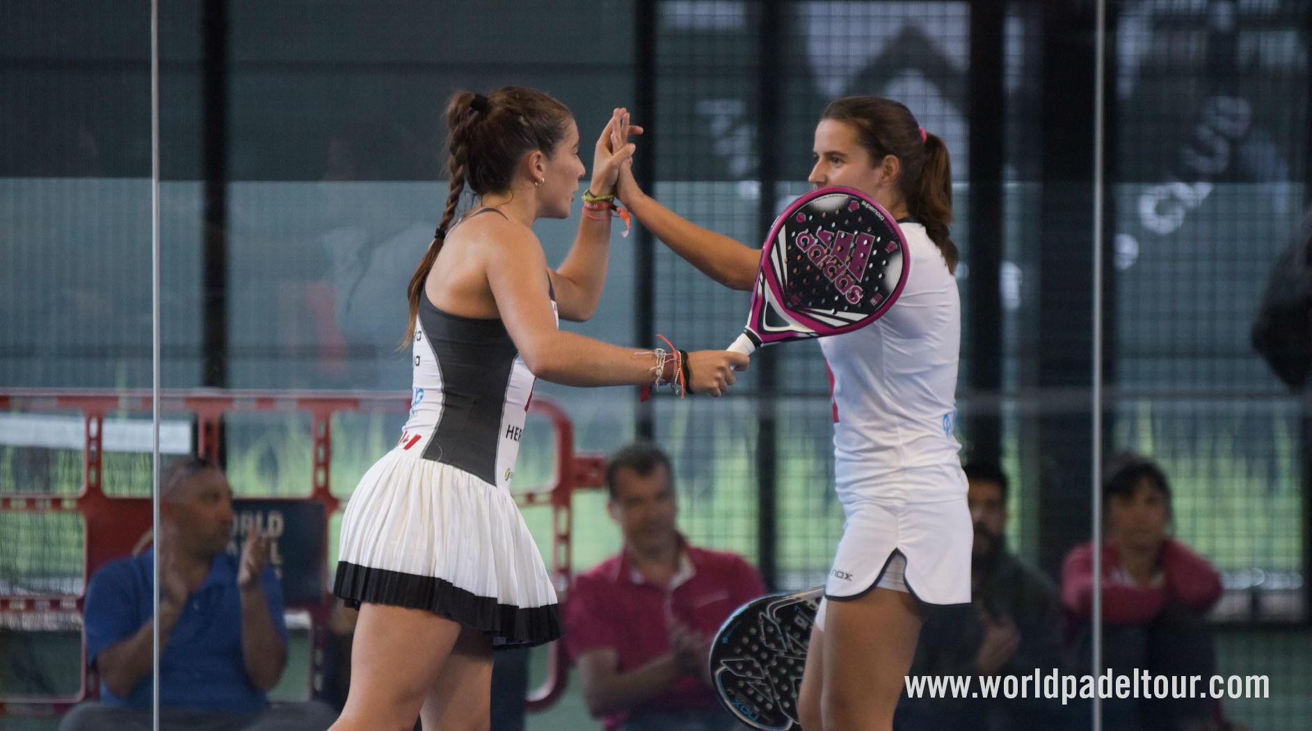 María Ortega y Ariana Sánchez se llevaron la última plaza para...
