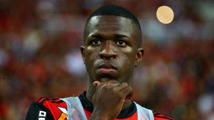 Vinicius, con Flamengo.