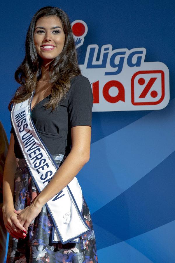 Sofía del Prado, embajadora de la Liga Dia.