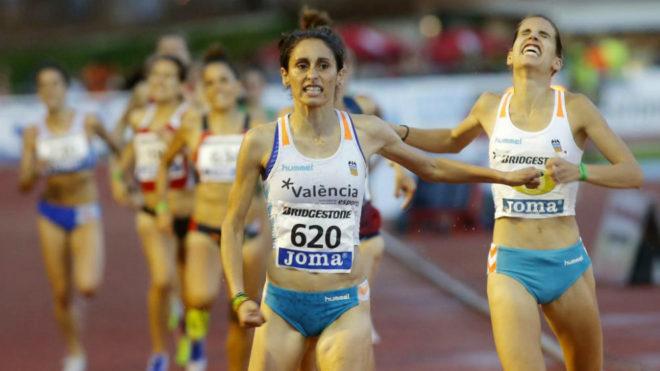 Solange Pereira en el Campeonato de España disputado en Barcelona.