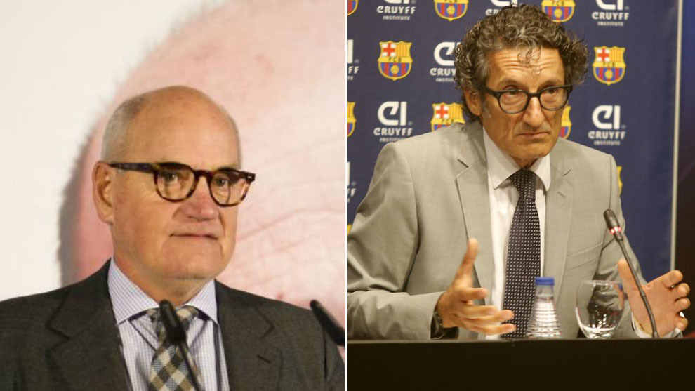 Villarrubí y Monés, ya ex directivos del Barça
