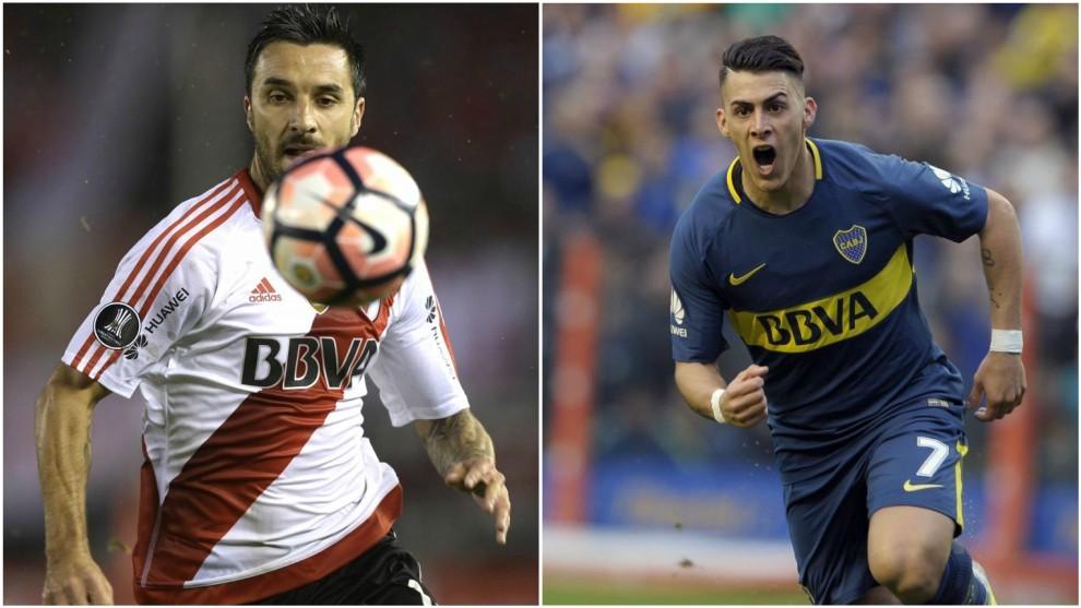Scocco (32) y Pavón (21) marcaron en la quinta jornada de la...