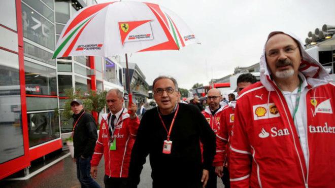 Marchionne, en Monza.