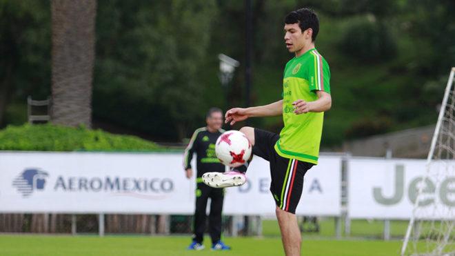 El Chuky estará concentrado con la selección mexicana