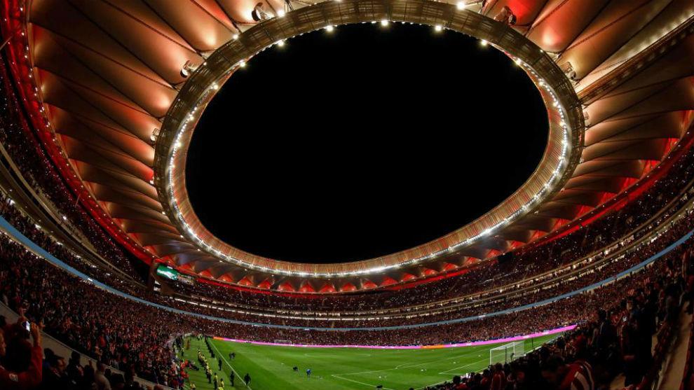 Imagen del Wanda Metropolitano el día de su inauguración.