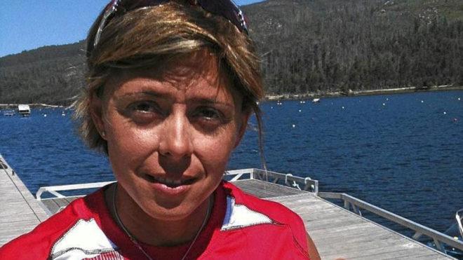 Beatriz Manchón, en un Campeonato de España de hace años.