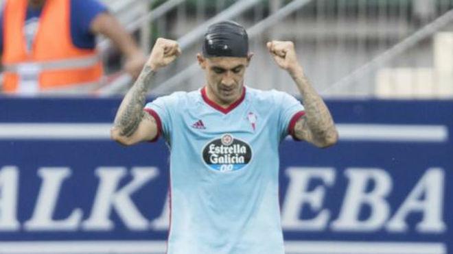 'Tucu' Hernández, ante el Eibar.