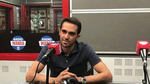 Alberto Contador en Radio MARCA