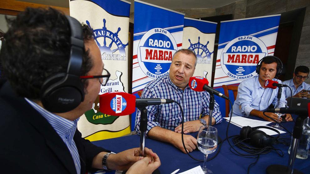 Miguel Ángel Ramírez en Radio MARCA.