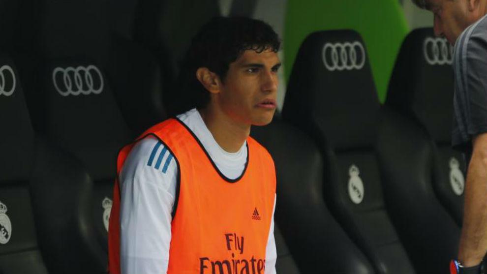 Vallejo, en el banquillo del Bernabéu