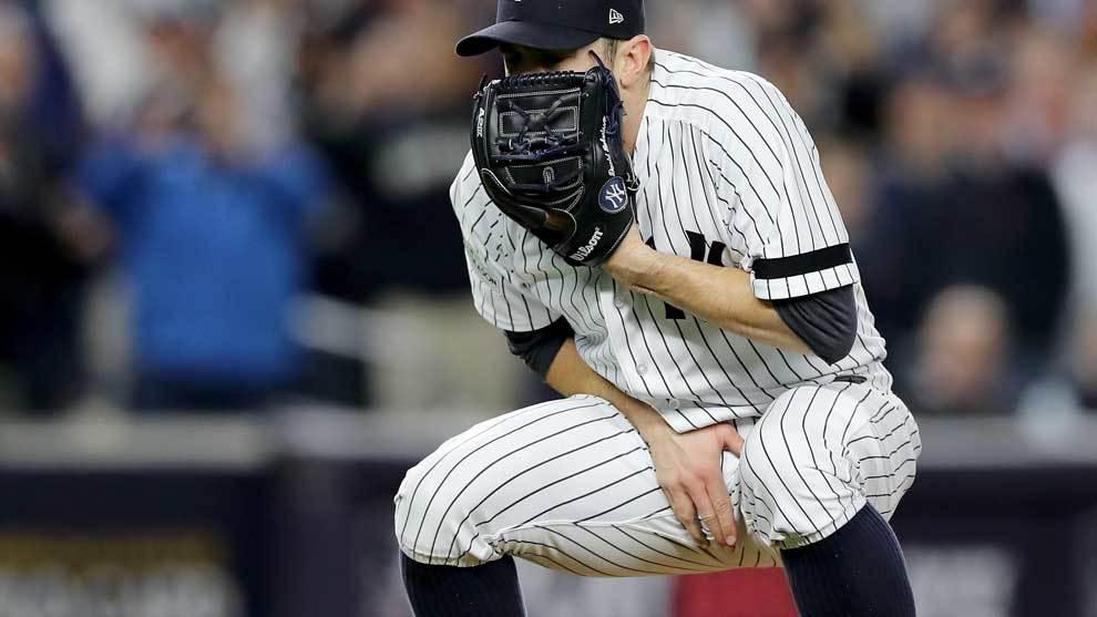Gary Sánchez (Yankees) sufrió un