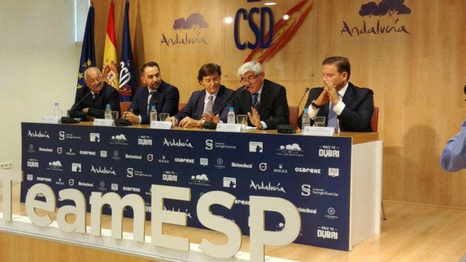 Un momento de la presentación del torneo en el CSD