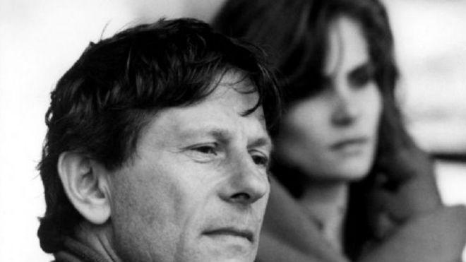 Roman Polanski y su actual pareja, Emmanuelle Seigner
