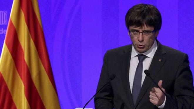 Carles Puigdemont (Foto: EFE)