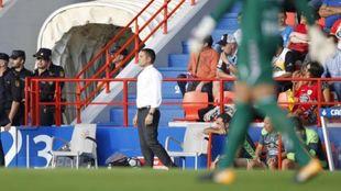 Francisco, durante el partido entre Tenerife y Lugo.