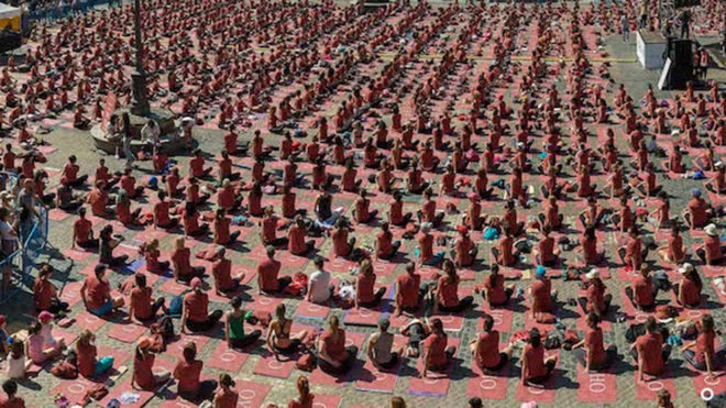 5ª edición del Free Yoga By Oysho 98e31c2b9301