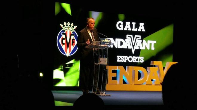 Fernando Roig habla en el acto